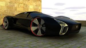 ferrari concept wallpaper black ferrari concept car perfect for your with photos