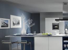 cuisine gris et bleu decoration cuisine bleu gris idée de modèle de cuisine