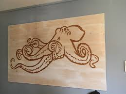 octopus wall art beer budget decor the csi project