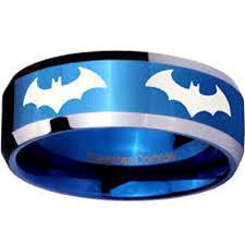 batman wedding bands tungsten carbide ring scratch free everlasting quality best