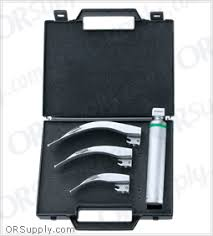 venticaire fiber optic macintosh profile laryngoscope set