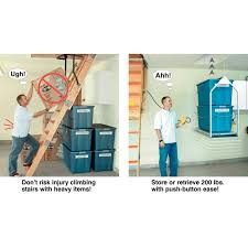 attic lift system organize your life