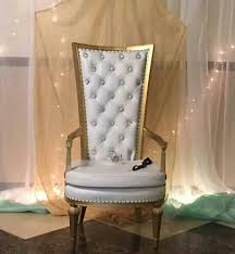 baby shower chair rental white and gold chair rental baby shower chair rental in nyc
