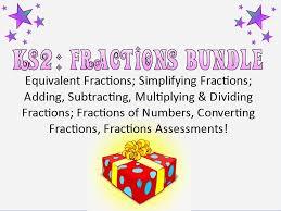 ks2 fractions worksheet generator by mrajlong teaching