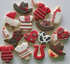 Red Baby Shower Themes For Boys - http www babyshowerinfo com themes boys little buckaroo baby