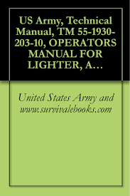 buy us army technical manual tm 9 4110 257 14 operators unit