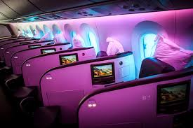 virgin atlantic boeing 787 upper class business class airline review