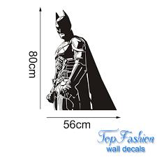 batman wall decal vinyl sticker the dark knight superhero atr home
