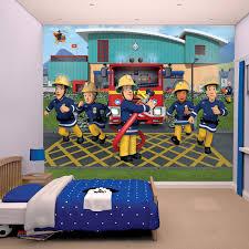 fireman sam wallpaper mural walltastic 43770 children u0027s wall