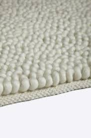stylish and peaceful chunky wool rug simple decoration west elm