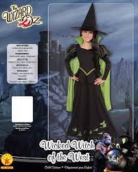 halloween costume with cape amazon com wizard of oz wicked witch of the west costume medium