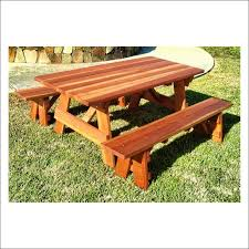 exteriors free picnic table plans plastic picnic tables concrete