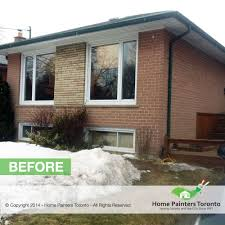 interior house painting before and after