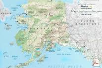 map of alaska cities top alaska maps