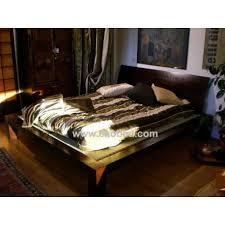 letto a legno massello letto in legno massello con tatami e testiera 140x200 taesha