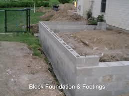 Patio Foundation Concrete Block Brick Concrete Driveway Patio Sidewalk Floors