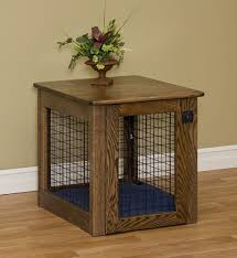 dog crate table design home decorations