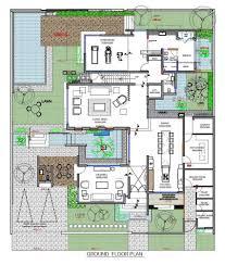 floor plan pool villa samui spa ideas pinterest villas