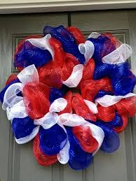 4th of july wreaths 4th of july wreaths creative fourth of wreath made from blue