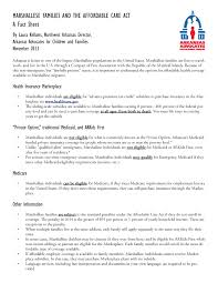 fact sheet marshallese families and the affordable care act
