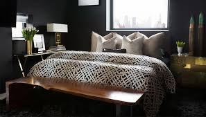 Gold And Black Bedroom by Black Bedrooms With Gold Accents Contemporary Bedroom