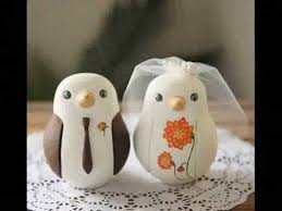 dove cake topper wedding birds cake toppers