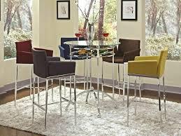 breakfast bar table set glass top bar table glass top bar table square glass top bar table