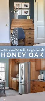 how to modernize honey oak cabinets paint colors that go best with honey oak kate at home