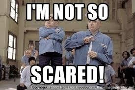Austin Powers Meme Generator - i m not so scared austin powers and mini me meme generator