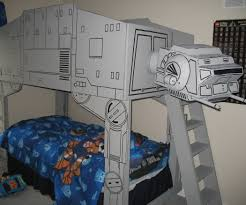 Star Wars Bedroom Ideas Star Wars At At Imperial Walker Loft Bed With Pictures