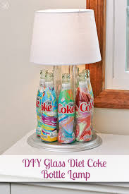 Lamps Made From Bottles Making A Diy Lamp From Glass Coca Cola Bottles Third Stop On The