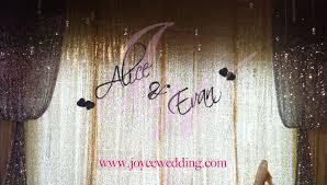 wedding backdrop name backdrop silver sparkle name wedding backdrops backdrop