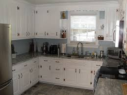 Black Kitchen Countertops by Kitchen Cabinets Chic White Kitchen Cabinet And White