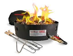 amazon com camco u201clittle red campfire u201d 11 25 inch portable