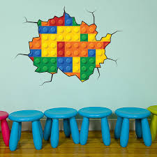 lego wallpaper for kids room wallpapersafari details about full color lego wall sticker mural decal graphic boys