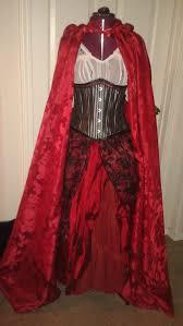 Snow White Halloween Costume Red Costume Cloak Phoenixforce85