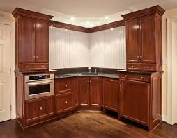 Cream Cabinets In Kitchen Excellent Glazed Kitchen Cabinets All Home Decorations