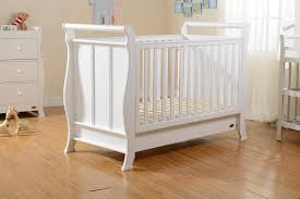 Sleigh Cot Bed Super Nanny 4 In 1 Classic Sleigh Cot Bed White Super Nanny