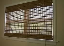 Bamboo Shades Blinds Bedroom The Bamboo Window Shades Blind Outside With Blinds At
