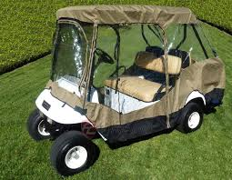 Club Car Ds Roof by Formosa Covers Golf Cart Driving Enclosure For 4 Seater With 2