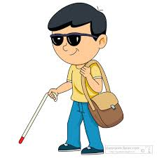 Blind People Canes Search Results For Blind Blindness Cane Clip Art Pictures