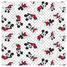 mickey mouse toss jersey knit fabric by the yard target