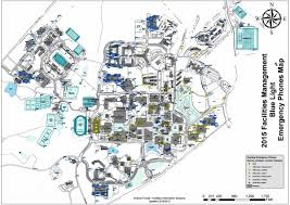 U Of A Campus Map Printable Campus Maps Facilities Management Unc Charlotte