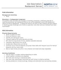 Server Job Description Resume Example by Assistant Manager Resume Retail Jobs Cv Job Description Examples