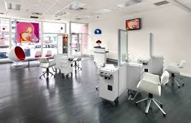 hair salon design ideas floor plans white modern salons decor