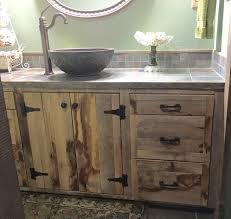 Farm Style Bathroom Vanities Farmhouse Style Reclaimed Rough Sawn Oak Bath Vanity Cauthorn