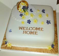 Welcome Back Decorations by Emejing Welcome Home Cake Designs Contemporary Decorating Design