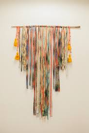 diy wall hanging tapestry it would be so easy to make it a