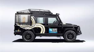 custom land rover defender rugby world cup 2015 custom defender land rover