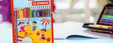 thick writing paper stabilo trio thick colored pencil www stabilo com ergonomic design for small hands